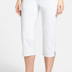 NYDJ Jeans - NWT~$89~NYDJ~White HAYDEN Capri Crop Jeans~2P